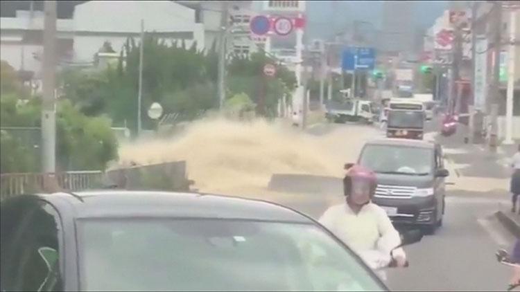 [영상] 카메라에 포착된 오사카 지진 순간…'공포스러워'