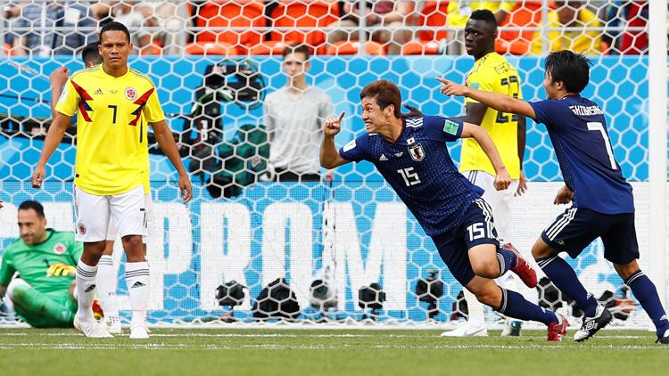 [월드컵 영상] 일본 vs 콜롬비아 '전후반 하이라이트'