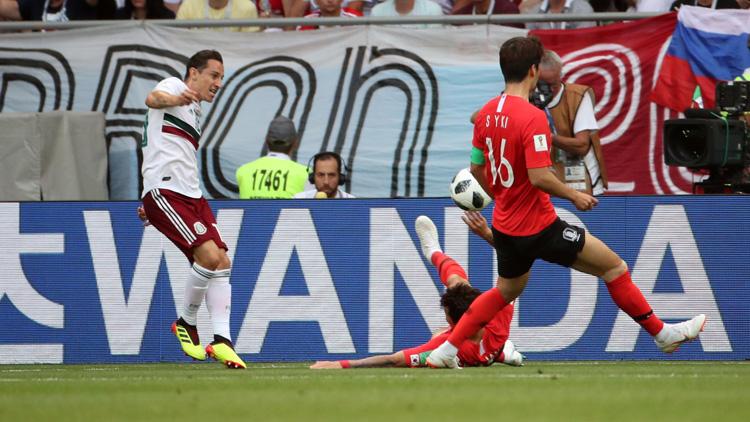 [영상] 한국, 멕시코에 PK 선제골 허용…0-1 전반 종료