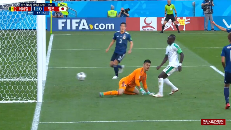 [월드컵 영상] 일본 vs 세네갈 '전반전 하이라이트'