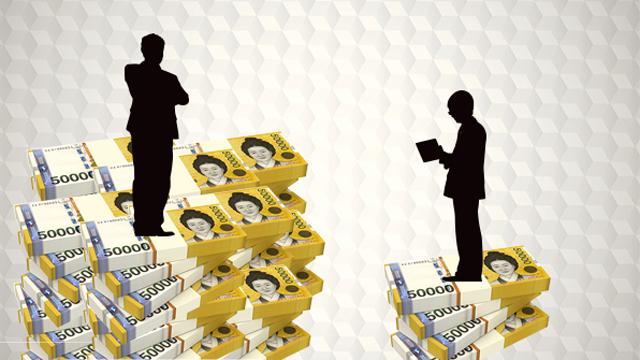 갈수록 벌어지는 빈부격차, 정부 노력은 꼴찌 수준?