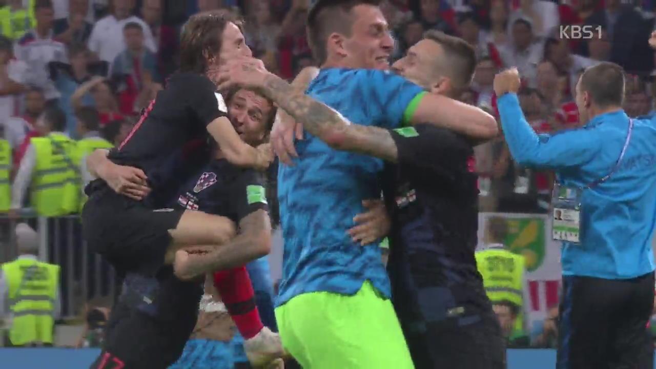 """""""더 뛸 수 있다""""…투혼의 크로아티아, 프랑스 넘을까?"""