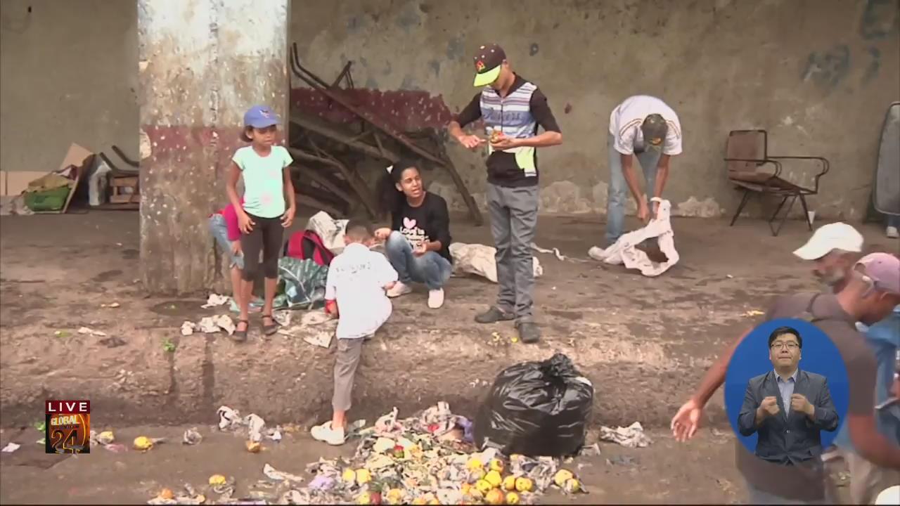 """[글로벌24 현장] 베네수엘라 """"떠난 사람도, 남은 사람도 고통"""""""