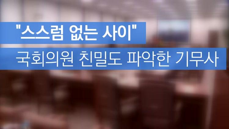 """[자막뉴스] """"친밀도A-스스럼없는 사이""""…기무사, 국회의원 회유·로비?"""