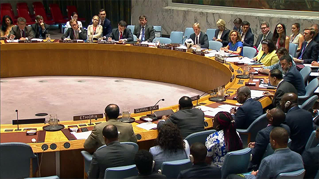 유엔 안보리, 내전 남수단에 '무기금수' 결의 채택