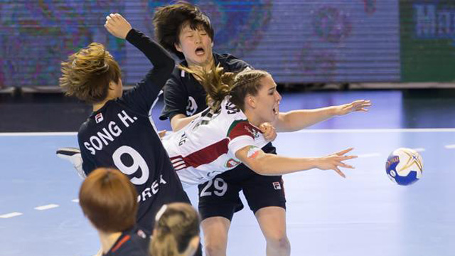 한국, 헝가리에 져 U-20 여자핸드볼 결승 진출 실패
