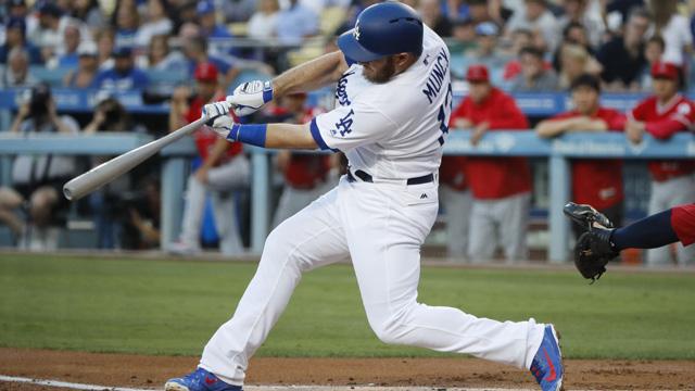 먼시, 선제 홈런·역전 결승타…다저스 3연승