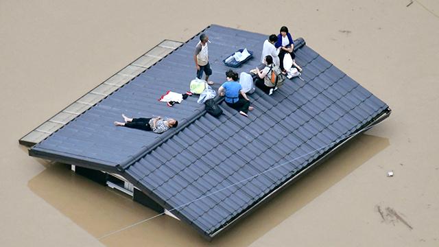 日정부, 서일본 집중호우 '비상재해' 지정…지진 외 첫 사례
