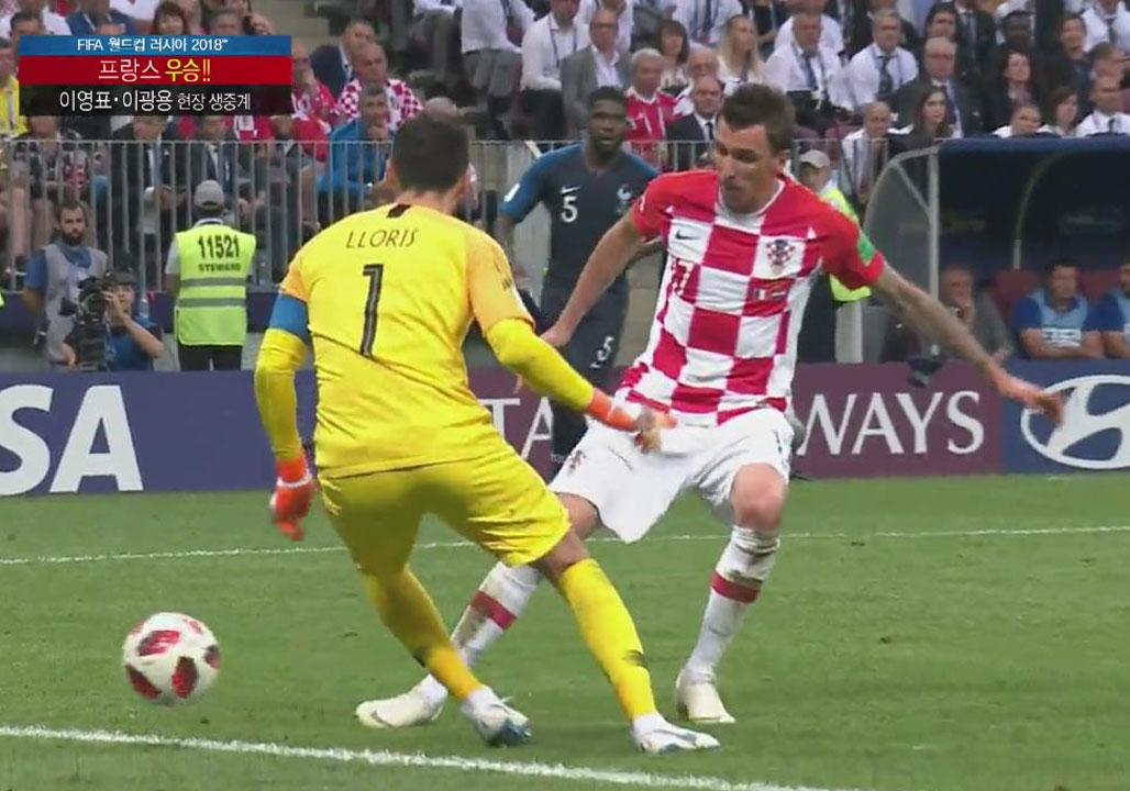 [월드컵 영상] 프랑스 vs 크로아티아 '전체 하이라이트'
