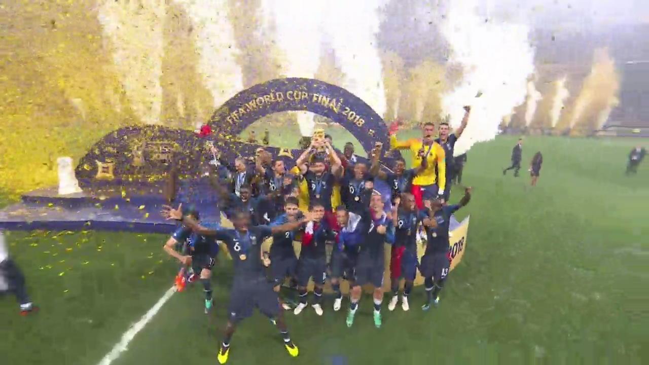 프랑스, 통산 두 번째 월드컵 우승…20년 만에 정상 탈환