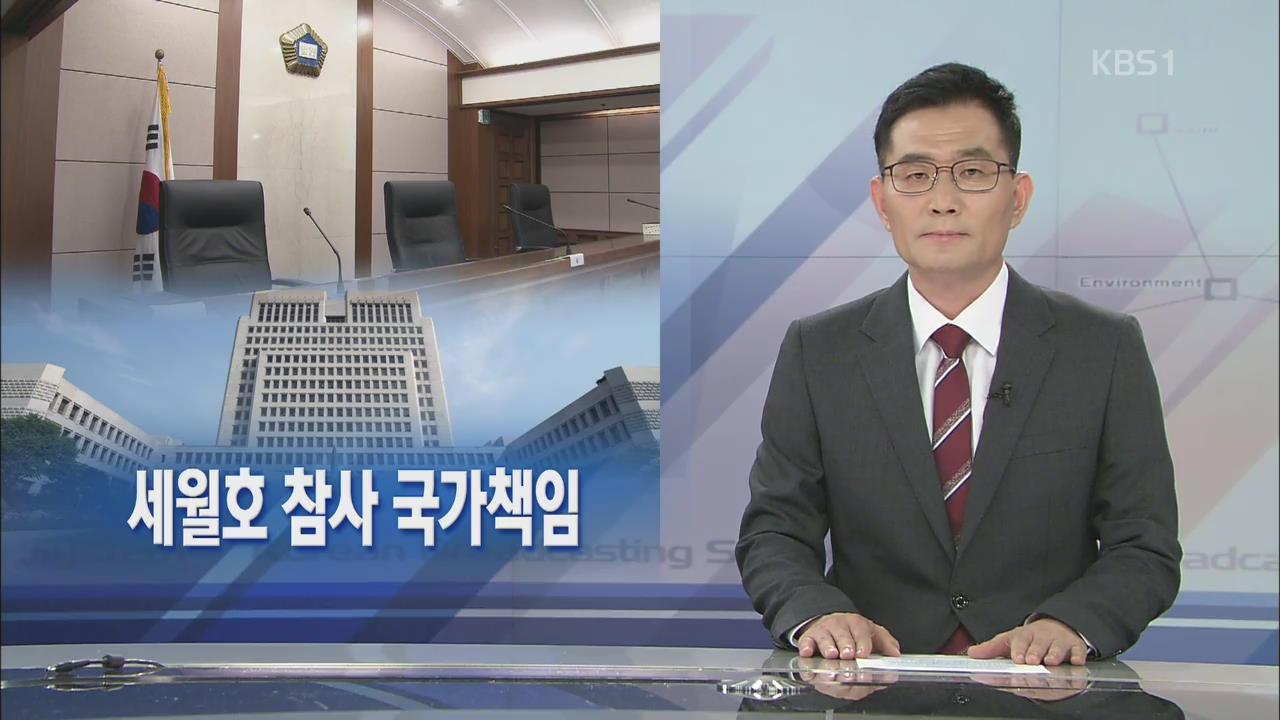 [뉴스해설] 세월호 참사 국가책임 관련 사진