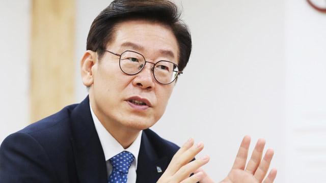 """""""이재명 조폭 유착 의혹"""" 파장…李, 조목조목 반박"""