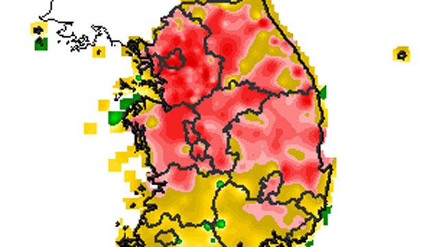 중부지방 폭염 절정…서울 38도, 관측 이후 5번째로 높아