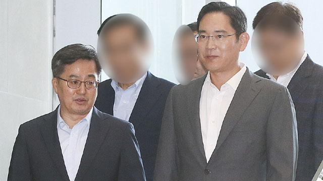 [팩트체크] 김동연 장관이 삼성 이재용에게 머리를 조아렸다?