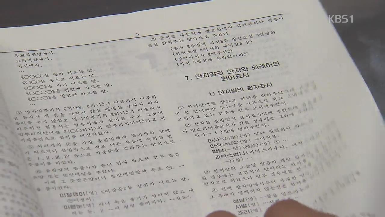 """로이터 """"분단 후 남북간 언어 간극 심각…단어 70%만 공유"""""""
