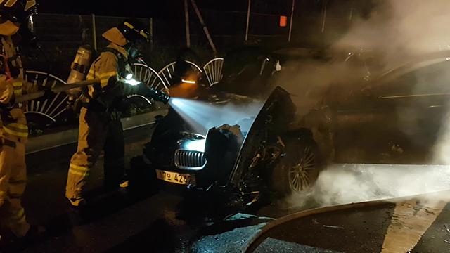 주행중 BMW 차량에서 또 불…3천4백여만 원 피해