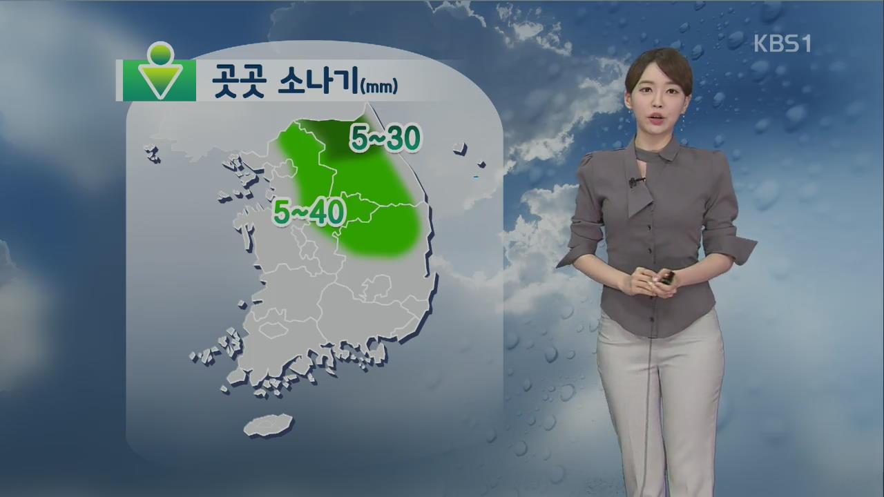 [날씨] 당분간 폭염 계속…곳곳 소나기