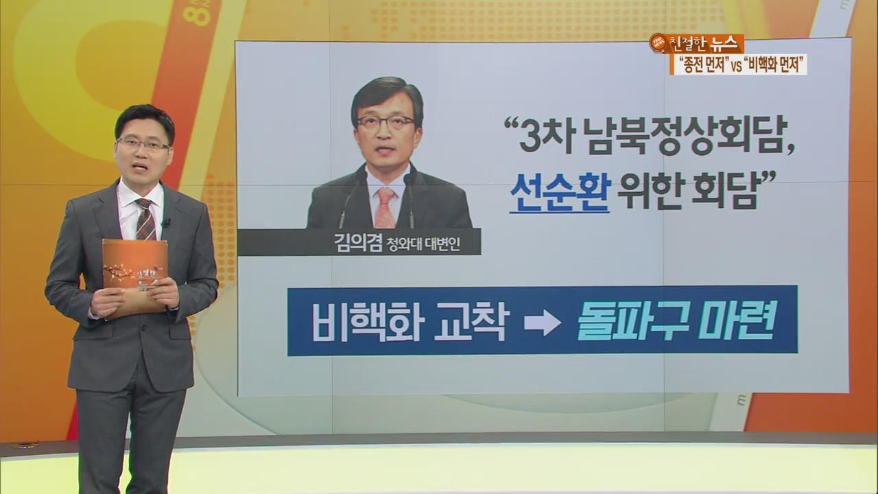 3차 남북정상회담 논의 급물살…그 배경은?