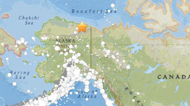 """미국 알래스카 북부서 규모 6.4 지진 발생…""""지역 최대규모"""""""