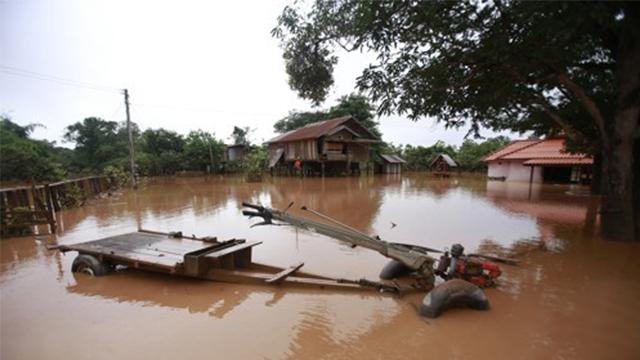 라오스 보조댐 사고 20일 지났는데 아직도 98명 생사 미확인