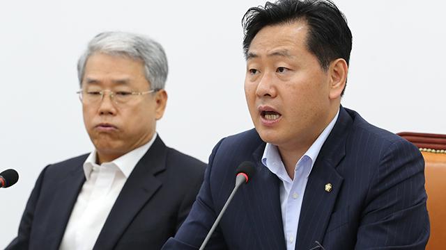 """김관영 """"공론화 없는 연금 개편 안돼…정부 특활비 과감 삭감"""""""