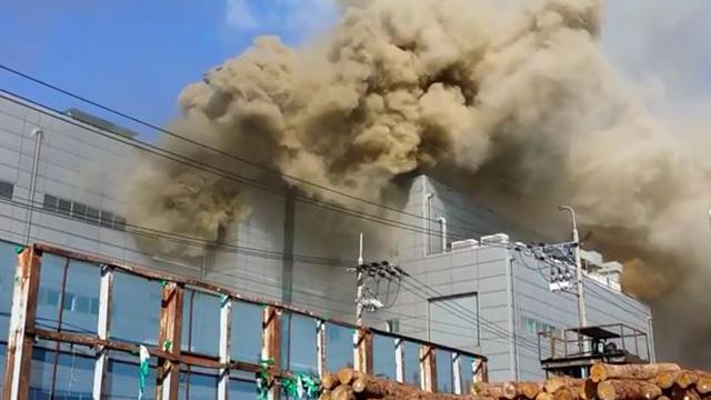 인천 전자제품 공장 화재…9명 사망·4명 부상