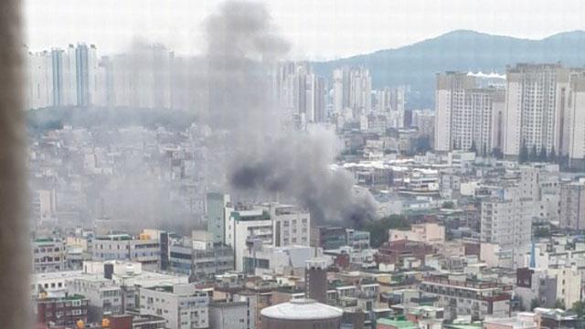 인천 남동구 고물상 화재…인명피해 없어