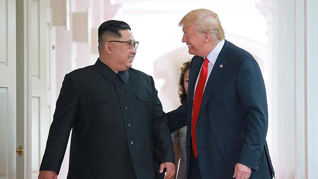 """트럼프 """"김정은과 관계 훌륭해…北문제 매우 잘 진행 중"""""""