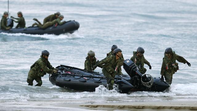 日자위대 수륙기동단, 美해병대와 훈련장 밖 첫 공동전투 훈련