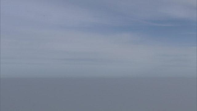 [취재후] 스모그 1300m 상공, 마침내 맑은 공기가 펼쳐졌다
