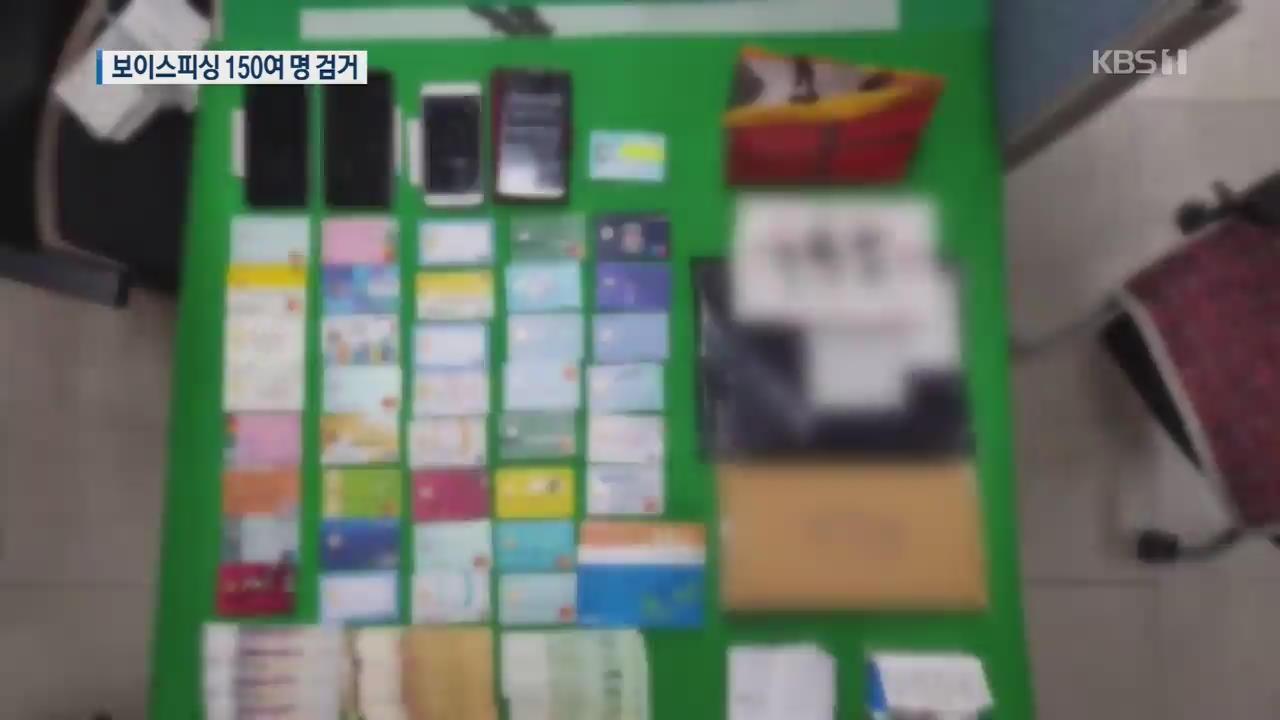 '악성코드' 심어 보이스피싱…'준석이파' 157명 검거·42명 구속