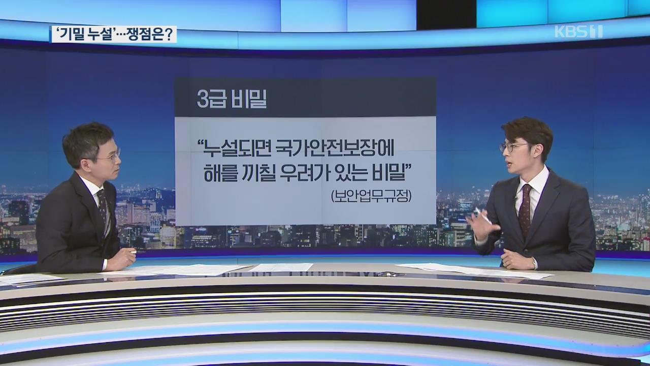 """靑 """"국가 기밀 유출"""" vs 한국당 """"불법 감찰""""…쟁점은?"""