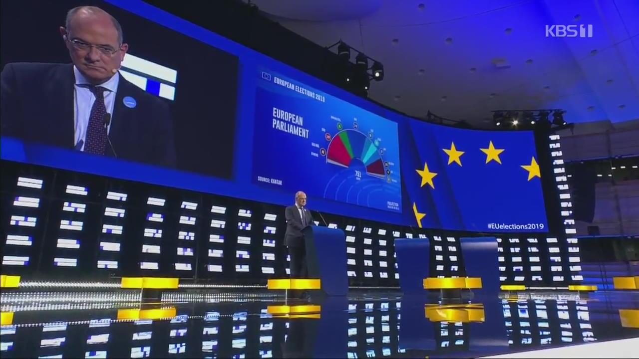 유럽의회 선거, 중도 몰락, 극우·녹색당 약진 예상