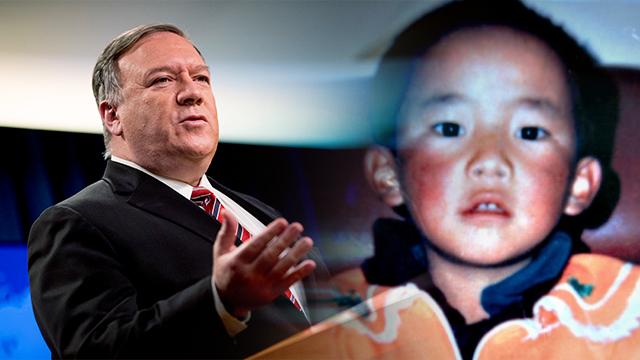 """폼페이오 """"中, 티베트 불교 지도자 행방 밝혀라"""""""